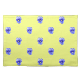 Blue Pansy - Placemats