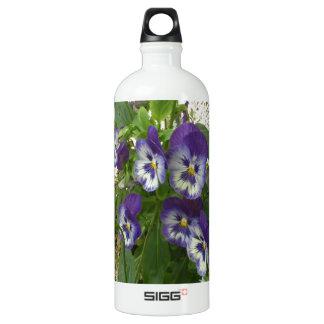 Blue Pansy SIGG Traveller 1.0L Water Bottle