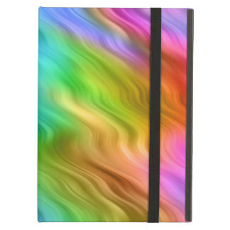 Blue Pansy Wavy Texture iPad Air Cases