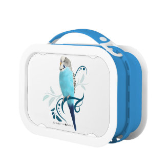 Blue Parakeet Lunch Box