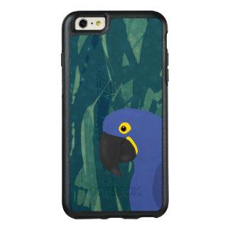 Blue Parrot OtterBox Apple iPhone 6 Plus Case