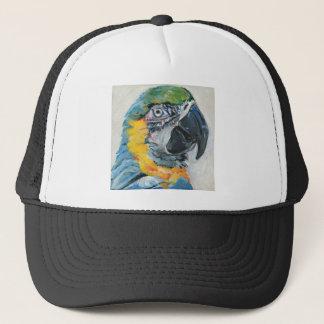 Blue Parrot Trucker Hat