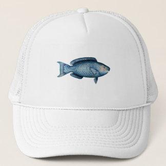 Blue Parrotfish Trucker Hat