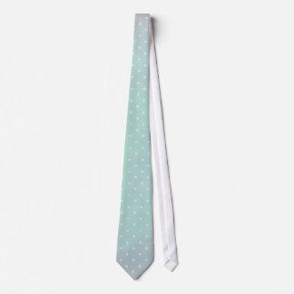 Blue Pastel Polkadot Tie