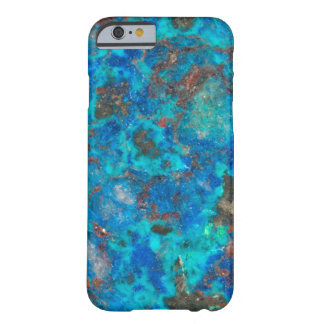 Blue patterened Shattuckite Barely There iPhone 6 Case
