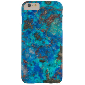 Blue patterened Shattuckite Barely There iPhone 6 Plus Case