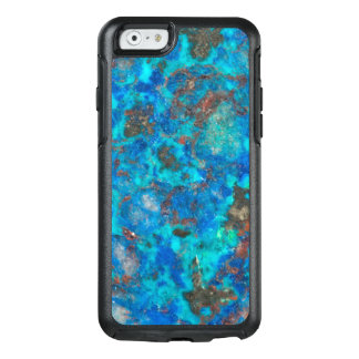 Blue patterened Shattuckite OtterBox iPhone 6/6s Case