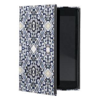 Blue Pattern Case For iPad Mini