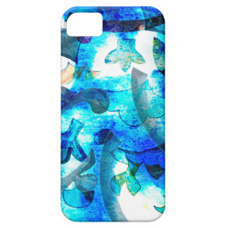Blue pattern case for the iPhone 5