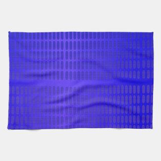 Blue Pattern Kitchen Towel