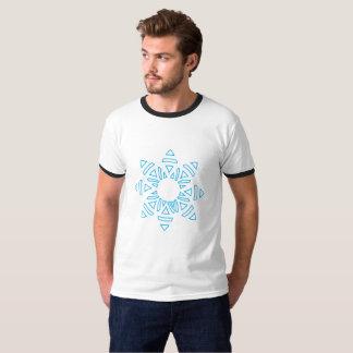 blue pattern shirt of a celestial body