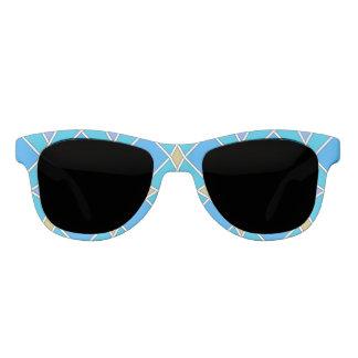 Blue pattern sunglasses