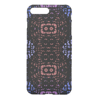 Blue Peach Abstract iPhone 7 Plus Case