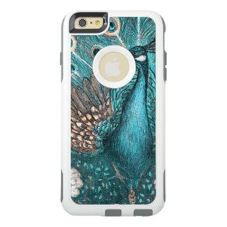 blue peacock OtterBox iPhone 6/6s plus case