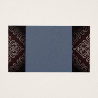 Blue Pearl Damask Business Cards