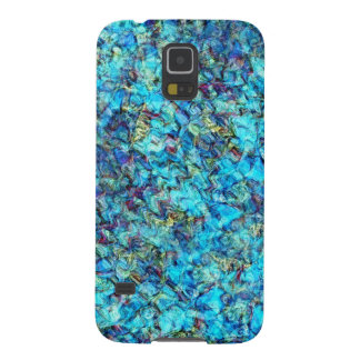 Blue Pebble Pond Abstract Phone Case Galaxy S5 Cases