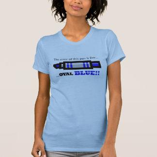 Blue Pen baby doll T-Shirt