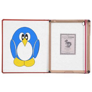 Blue Penguin iPad Folio Cover