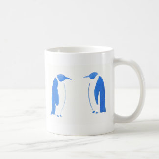 Blue Penguin Duo Coffee Mug