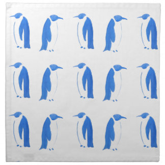 Blue Penguin Duo Napkin