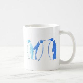 Blue Penguin Trio Coffee Mug
