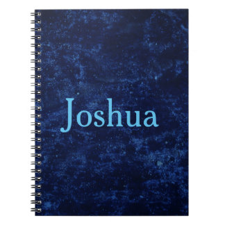 Blue Personalize Notebook