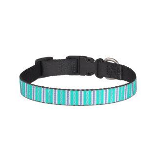 blue pet collar