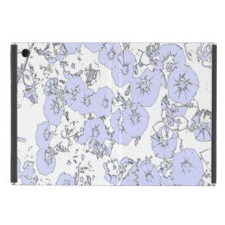 Blue Petunias iPad Mini Cover