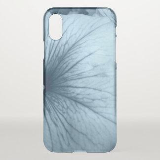 Blue Petunias iPhone X Case