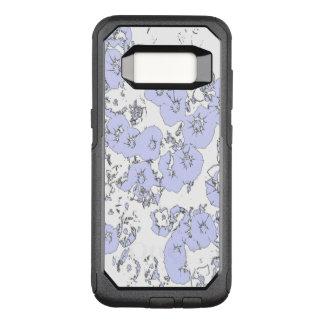 Blue Petunias OtterBox Commuter Samsung Galaxy S8 Case