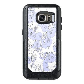 Blue Petunias OtterBox Samsung Galaxy S7 Case