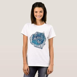 Blue Pflanzenrest T-Shirt