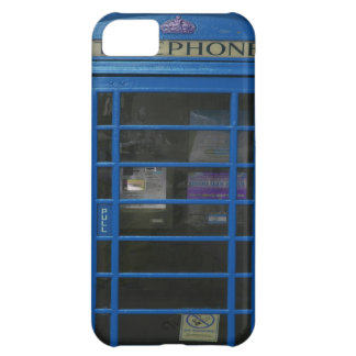 blue phone booth case for iPhone 5C