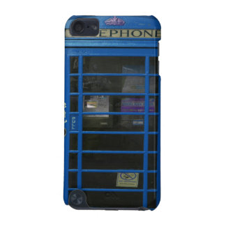 blue phone booth iPod touch 5G covers