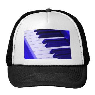 Blue Piano Keyboard Cap