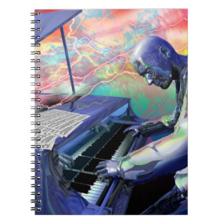 Blue Piano notebook