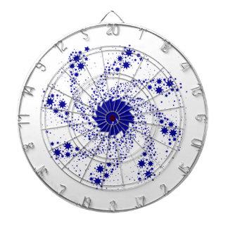 Blue Pin Wheel Dartboard