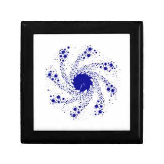 Blue Pin Wheel Gift Box