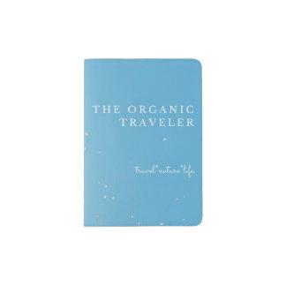 Blue & Pink Chic Passport Holder