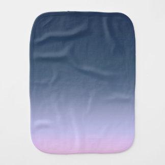 Blue-pink Ombre . Burp Cloth