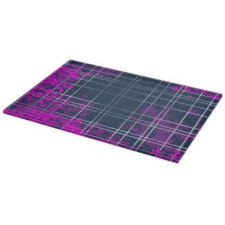 Blue Pink Pattern Cutting Board