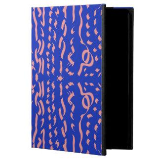 Blue & Pink Scriptease iPad Air Cover