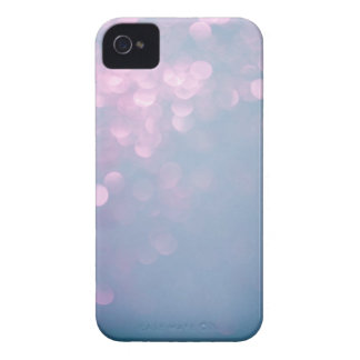 Blue & Pink Soft Focus Glitter iPhone 4 Case