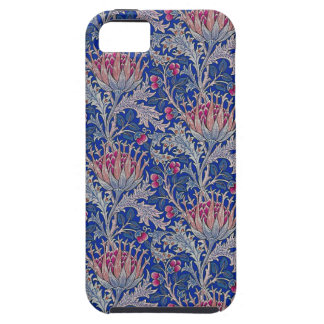 blue pink thistle case for the iPhone 5