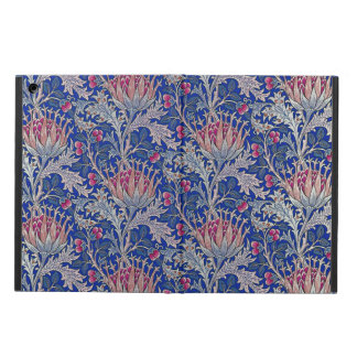 blue pink thistle cover for iPad air