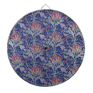 blue pink thistle dartboard