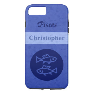 Blue Pisces Zodiac iPhone 7 Plus Case