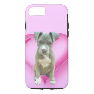 Blue pitbull puppy iPhone 7 case