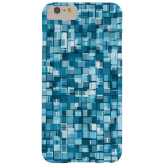 Blue pixels barely there iPhone 6 plus case