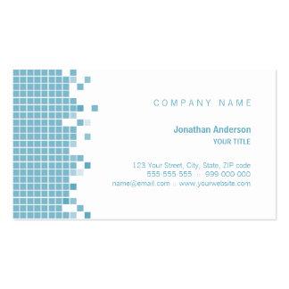 Blue Pixels business card